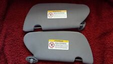 1993-95 Ford Coupe sunvisors Cloth Opal Gray with mirrors Left & Right