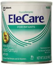 4 cans Elecare Infant with DHA/ARA by Abbott 14.1 oz/can - Dated Nov '19