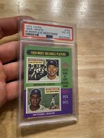 Mickey Mantle Newcombe MVP PSA 4 VG 1975 Topps #194 Collector Card INVEST NR