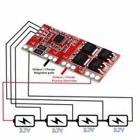 4S 30A Equilibrio LI-ION Litio Lipo 18650 Batería Bms Protección PCB Tabla 16.8V