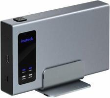 Inateck Aluminum USB-C RAID HDD Hard Drive Enclosure Dual Bay
