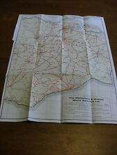 London Collectable Bus Coach Route Maps eBay