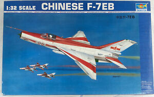 Trumpeter 1/32 Chinese F-7EB Jet Fighter 2217