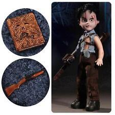 Evil Dead 2 ASH Necronomicon Living Dead Doll SOLD OUT In Hand Mezco Deadite