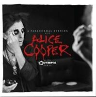 ALICE COOPER A Paranormal Evening At The Olympia Paris (Signed Fancard) 2CD NEW