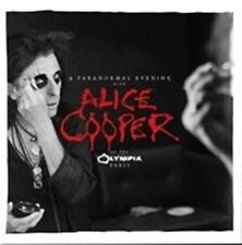 ALICE COOPER A Paranormal Evening At The Olympia Paris (Signed Copy) 2CD NEW