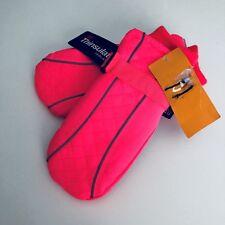 Girl's C9 Champion Waterproof Fluorescent Pink Ski Glove Mitten One Size