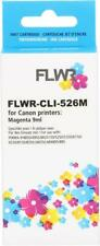 FLWR CLI-526M Magenta Compatible Cartridge for FLWR Canon NON OEM