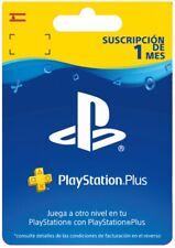 Tarjeta Playstation Plus Suscripción 1 Mes 30 DIAS(PS3/PS4/PSVita) Código ESPAÑA