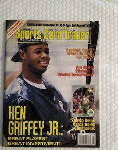 Sports Card Trader Magazine Ken Griffey Jr May 1994 Issue #49