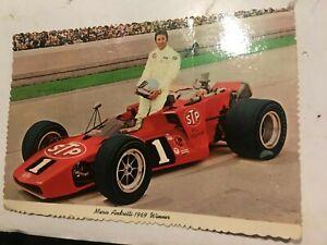 "Mario Andretti 1970 STP #1 Indy 500   Postcard 4"" x 6"""