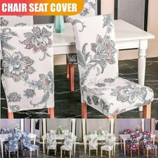 Removable Stretch Chair Cover Dining Wedding Banquet Slipcover Seat  B1