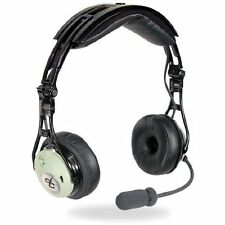 David Clark DC PRO-X ENC Aviation Headset - GA/Dual Plug Pilot ANR - 43100G-01