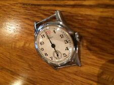 Soviet Pobeda watch 1950s WWI style trench dial