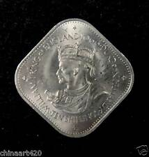 Guernsey Coin 10 Shilling, 1966, William I, 900th Anniversary - Norman Conquest