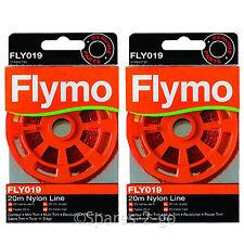 FLYMO Trimmer Strimmer Line Spool Feed Cord Revolution Power Multi Trim 40m