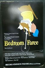 "Bedroom Farce Theater Broadway Window Card Poster 14"" x 22"""