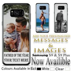 Personalised Custom Photo Printed Rubber Case Protection For Samsung Phones