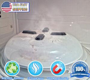 Microwave Hover Anti Splattering Magnetic Food Cover - Microwave Splatter Lid