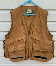 Men's CABELA'S Brown Duck Hunting Vest Large EUC