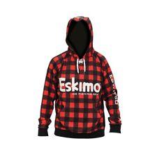NEW Eskimo Buffalo Plaid Hoodie M L XL XXL  Ice Auger Sweatshirt Clothing Hockey