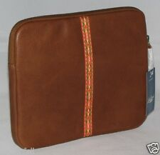 Lucky Brand Leather Tablet sleeve HKW0132 Brown NWT