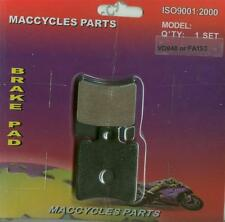 Piaggio Vespa Disc Brake Pads Zip 50 Electrico 2002 Front (1 set)