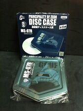 Gundam Statonery CD DVD Metal Disc Case MS-07B GOUF