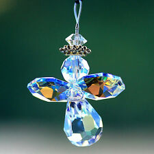 m/w Swarovski Crystal * Logo Ab Guardian Angel, No Strand Car Charm Suncatcher
