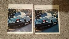 Vintage Car Brochure pair EPIC ENVOY by GENERAL MOTORS 1965