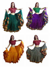 Full Length Silk Plus Size Skirts for Women