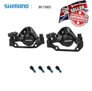 Shimano BR-TX805 Tourney TX Cable Disc Brake Caliper Front And Rear