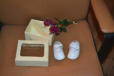 chaussure neuve start rite baby blanche 16,5 cuir dans coffret idee cadeaux