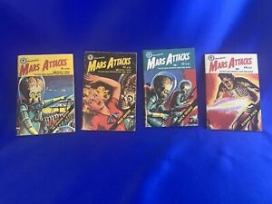 1988 Collection MARS ATTACKS MINI COMICS 1, 2, 3, 4 Topps Full Set Shock Troops