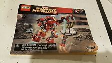 LEGO MARVEL SUPER HEROES SET 76031 INSTRUCTION BOOKLET MANUAL ONLY HULK IRON MAN