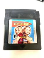 Mary-Kate And Ashley: Get a Clue Nintendo Gameboy Color Game Tested + Working