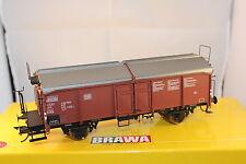 BRAWA 37023 Vagón de Techo corredizo ts851 con plataforma frenado DB,ESCALA 0
