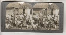 VINTAGE STEREOVIEW - WATER CARRIERS - BARRANQUILLA COLOMBIA SOUTH AMERICA