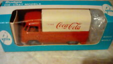 ULTRA RARE BUDGIE VW T1 DELIVERY VAN COCA COLA 1:43 RED & WHITE MINT IN BOX
