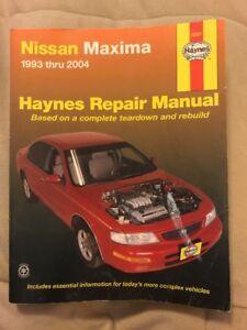 Haynes Repair Manual 72021 Nissan Maxima 1993 thru 2004