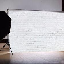 Vintage weiß Foto Studio Ziegelwand Hintergrund Backsteinmauer Fotohintergrund