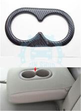 For Honda CRV CR-V 2012-2016 Carbon Fiber Rear Water Cup Panel Cover Trim uy