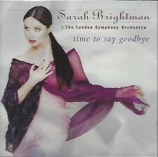 CD-SARAH BRIGHTMAN-LONDON SYMPHONY ORCHESTRA-TIME TO SAY GOODBYE-FACTORY SEALED!