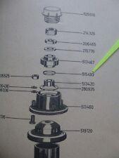 2x NILOS-RING oberes Federbeinlager unten wie 515 493 FORD Taunus 17M P2 NEU