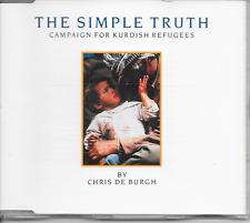 CHRIS DE BURGH - The simple truth CD SINGLE 2TR Germany 1991 (A&M)
