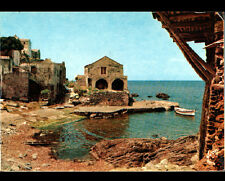 PINO (CORSE) VILLA & BARQUE au PORT Petite Marine en 1978