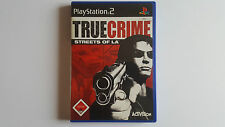 TRUE CRIME Streets of LA / jeu Playstation 2 / complet / PAL GER / PS2