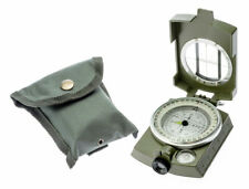 MILITARY PRISMATIC SIGHTING COMPASS LEVEL LIQUID FILLED heavy duty CC4580