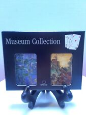 Claude Monet Museum Collection Playing Cards sealed decks