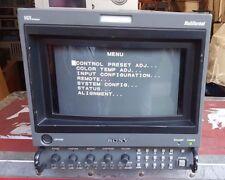 Sony Trinitron BVM-D9H5U Color Portable Field Monitor AC- Plus Power Adapter